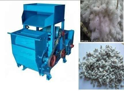 Double Roller Cotton Gin Machinery