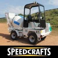 Self Loading Cement Concrete Mixer