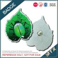 Custom printing metal badge