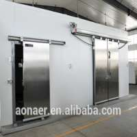 double stainless steel sliding cold storage door Manufacturer