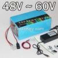48V 60V electric bike Lithium battery 13S 16S scooter battery pack Manufacturer