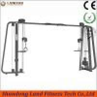 Adjustable crossover cable fitness gym equipment land fitness  Manufacturer