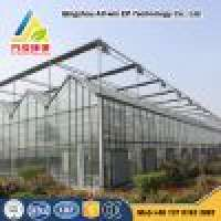 Cheapest glass cover greenhouse  Manufacturer