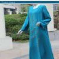 Arab women kaftan designs embroidery islamic clothing long sleeves Manufacturer