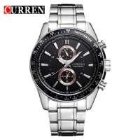 Designer Watches Curren 8010 Full Steel Strap Men's Military Army Watches Men's Analog Watches Manufacturer