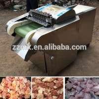 Bone meat choper and boneless chicken cube cutter Manufacturer