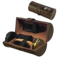 Shoe Polish Shine Set in Tin Box Cleaning Kit Manufacturer