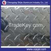 embossed aluminum tread sheet antislip alumnium checkered plate Manufacturer