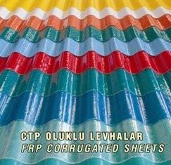Glass Fiber Reinforced Roof Sheets