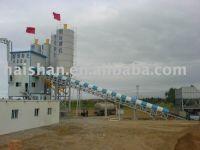 HZS90 concrete mixing plant