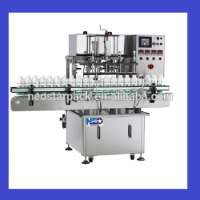 Auto 6 Nozzles Piston Fillers lotion syrup honey milk cleanser High Accuracy Filling Machine Manufacturer
