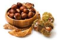 Raw Sweet Fresh Chestnuts