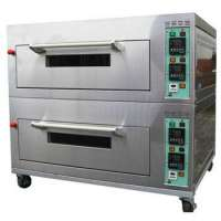 Industrial Baking Oven Restaurant Equipment Automatic Gas Pizza Oven Electric Bread Oven Manufacturer