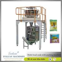 Automatic food weighing packaging machine multihead weigher Manufacturer