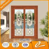 anodized aluminum frame acoustic sliding doors soundproof folding doors