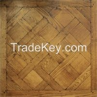 classic French Versailles wood parquet flooring
