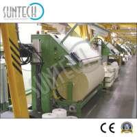 SUNTECH Loom Fabric Roll Rewinding Machine