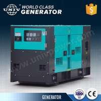 silent electric diesel generator Manufacturer