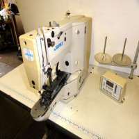 Juki 1903 Electronic Lockstitch Button Sewer Industrial Sewing Machine