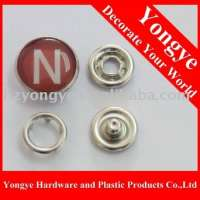 brass Metal pearl prong snap buttons  Manufacturer