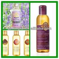 relaxing lavender massage oil