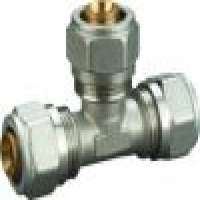 brass fitting equal tee pexalpex fitting compression fitting Manufacturer