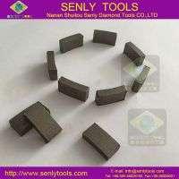 Diamond core bit segment drilling concrete granite stone Manufacturer