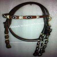 Rawhide Knotting Concho Headstall Manufacturer