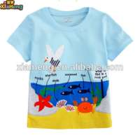 plain white kids clothing boys shirt printed t shirt Manufacturer
