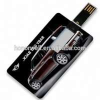 Full Color Printing Business Card data storage device
