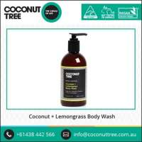 Organic Coconut Oil Lemongrass Body Wash  Manufacturer