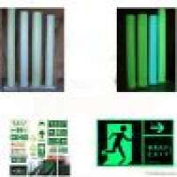 Anti Skid Tapes and soft plastic glow in the dark film tape self adhesive luminescent film Manufacturer