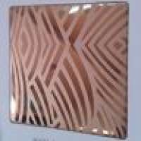 Mirror etched stainless steel sheet Manufacturer