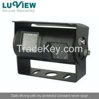 night vision Dual Lens Rear View camera heayduty equipments  Manufacturer