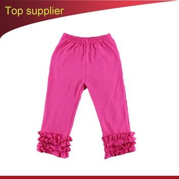 044985eda7352 Kids Girls Icing Ruffles Leggings Pants Baby Casual School Trousers
