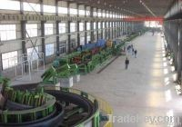 Steel pipe mill line
