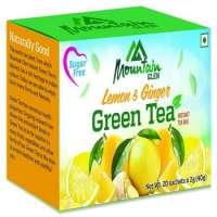 Green Tea Lemon & Ginger