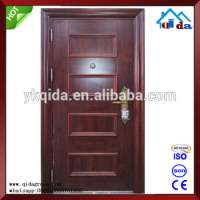Steel Waterproof Exterior Main Metal Door Apartment Manufacturer