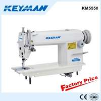 KM5550 High speed lockstitch sewing machine sewing machine table stand 5550 sew machine Manufacturer
