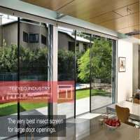 Teeyeo soundproof glass unbreakable folding door  Manufacturer