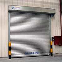 Industrial Security Door Aluminum Rapid Shutter Roll Up Rolling Door
