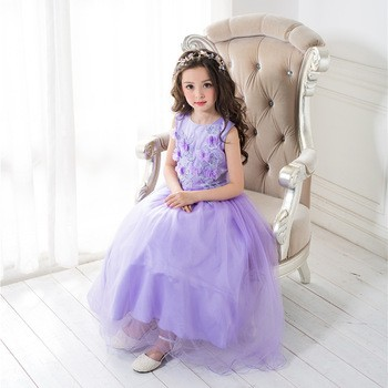 Other Products And Kids Clothing Satin Silk Baby Girl Baptism Dress