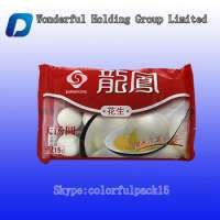 Customized chicken packingside gusset frozen food packaging bag