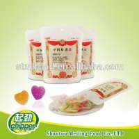sugar coated jelly soft sweets bag packing