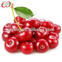 crop Canned cherry fresh fruit in syrup