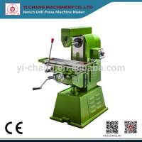 Manual Horizontal Metal Compound Milling Machine