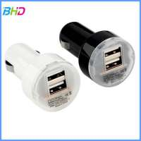 portable mini dual usb car charger Manufacturer