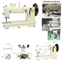 Long Arm, Flat Bed,Lockstitch Sewing Machine Manufacturer