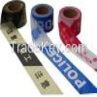Vinyl Tapes and Printed Warning caution tapeBarricade TapePolice Tapedanger tape Manufacturer