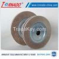 "Tornado 12"" 300mm aluminum oxide flap wheel polishing Manufacturer"